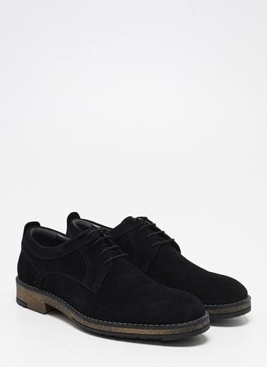 F By Fabrika Fabrika Deri Düz Topuklu Termo N Bağcıklı Renk Erkek Günlük Ayakkabı Siyah